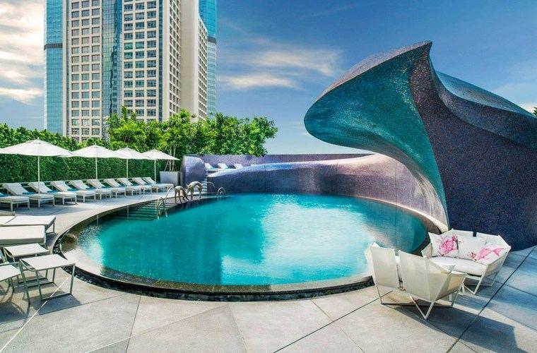 piscinas diseno original jardin espectacular arquitectura ideas