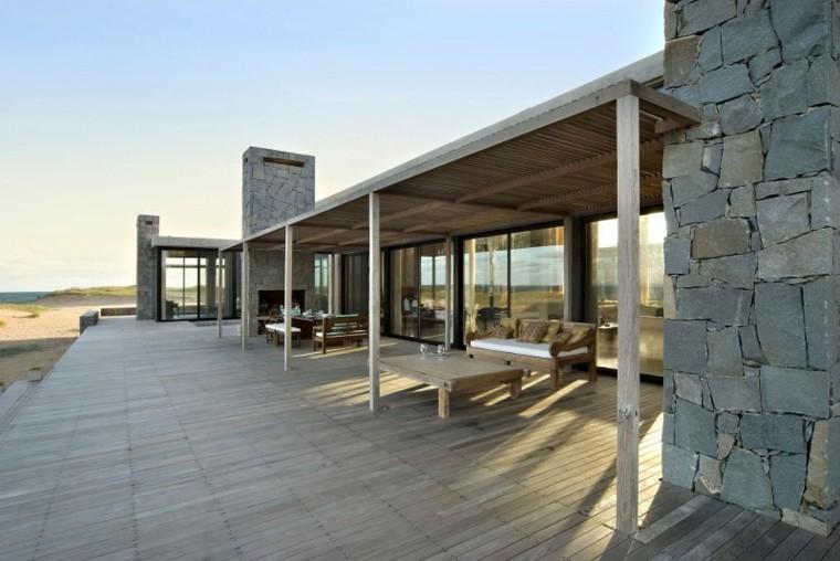 plano terrazas exteriores Martin Gomez Arquitectos ideas