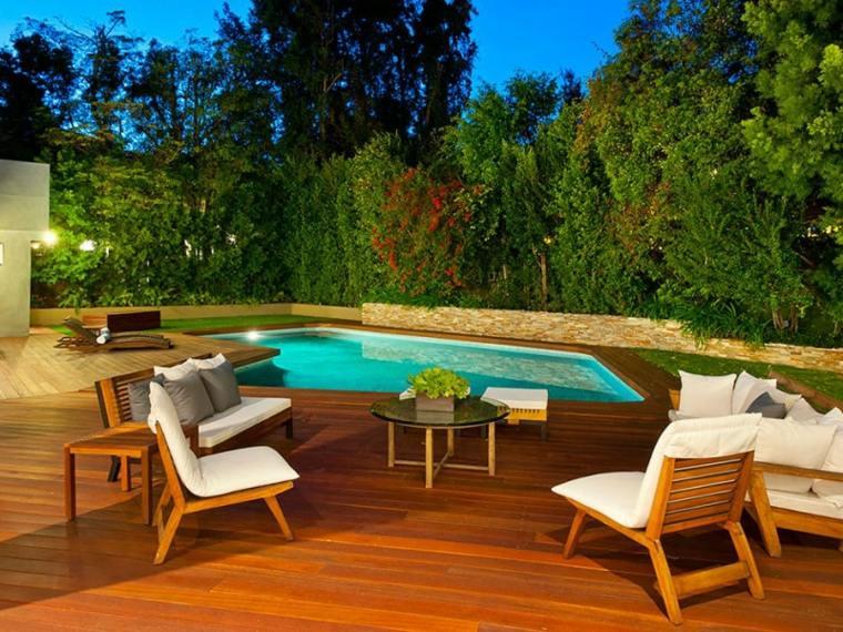 Planos terrazas exteriores con dise os espectaculares for Materiales para terrazas