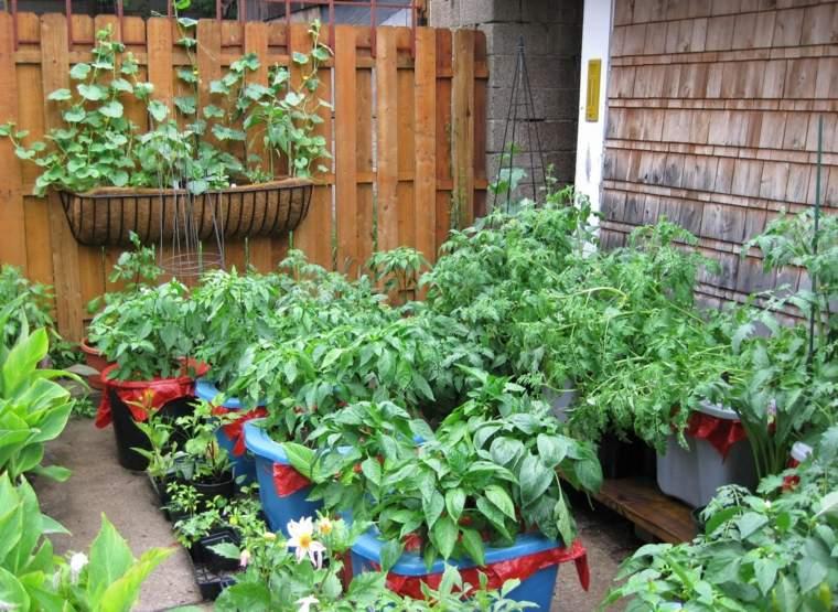 plantas huertos balcon terraza deco