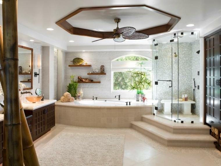 Baños de lujo - veinticuatro diseños que te encantarán