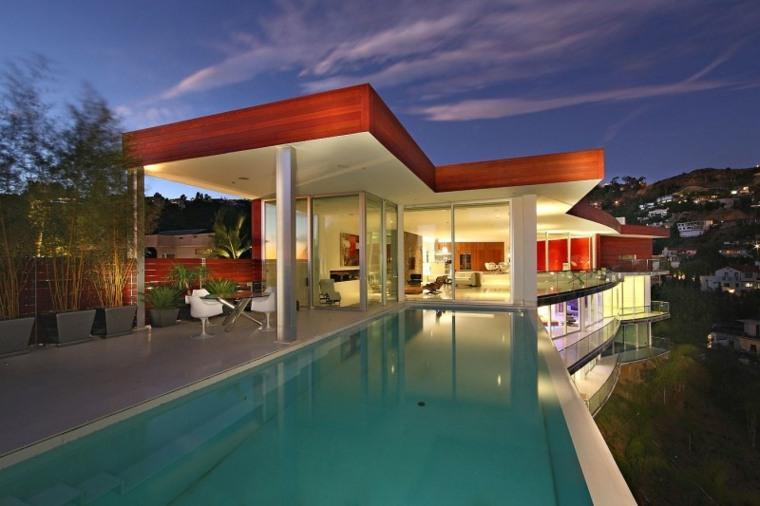 residencia diseno magnifico moderno terraza ideas