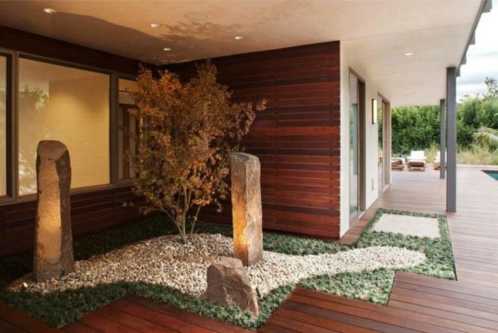 rocas muebles ideas decorativas espacios muros