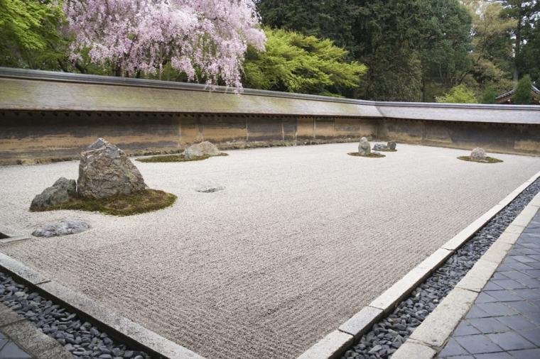 rocas zen decorar jardines