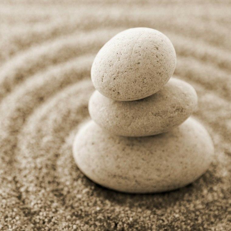 rocas piedras zen cerca ondas - Piedras Zen
