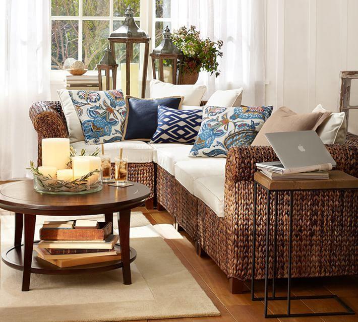 alfombras salon muebles rattan alfombra beige ideas