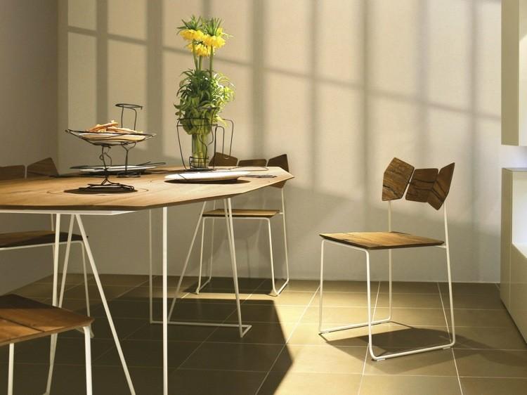 silla estilo moderno comedor deco