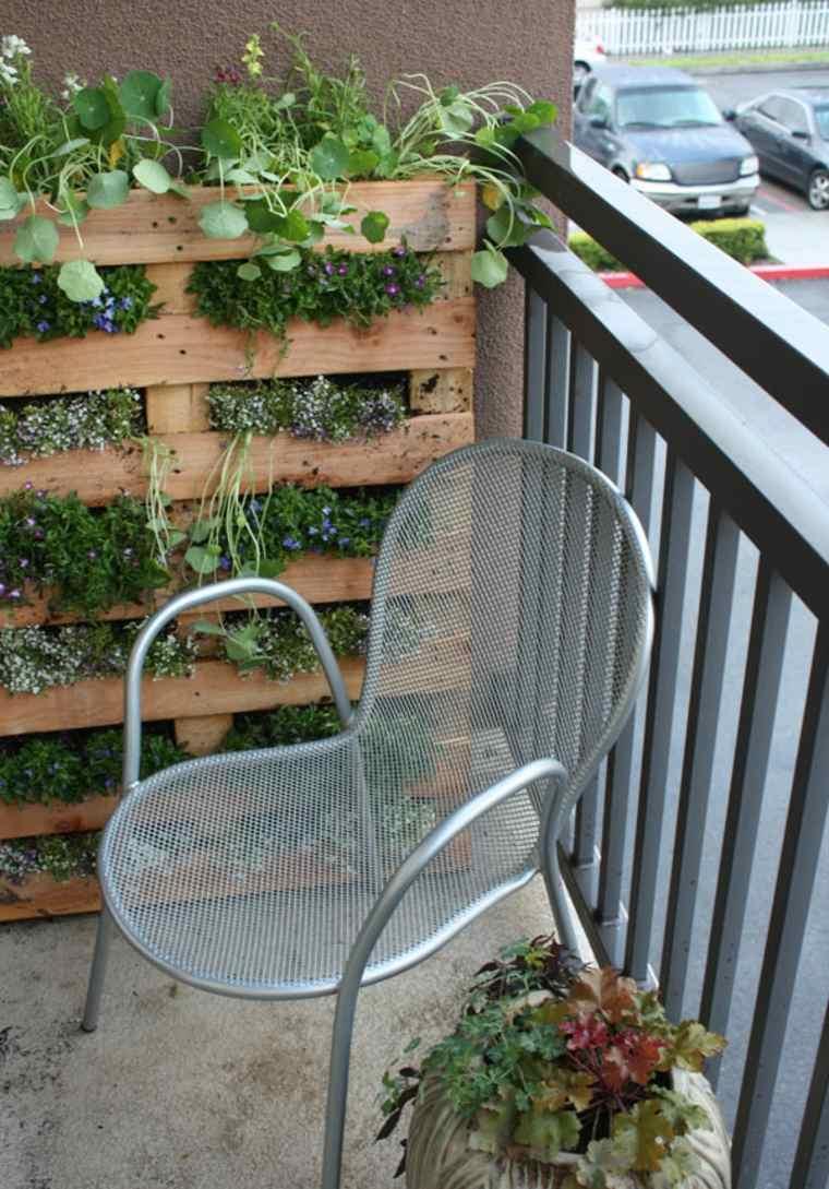 sillas verticales exteriores balcones jardines madrid