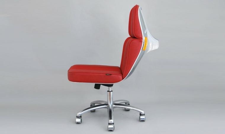 sillon vespa asiento color rojo