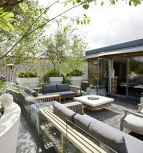 decorar terrazas con detalles sencillos y econmicos jardn y terraza