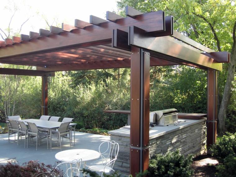 sillones sistemas maderas cocinas metales