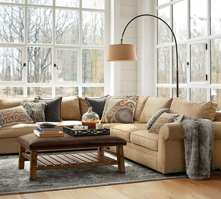 sofa amarilla alfombra gris salon moderno ideas