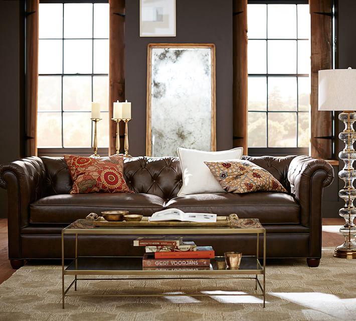 sofa cuero alfombra salon color beige ideas