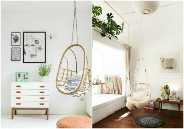 soluciones estantes sillones colgantes muebles