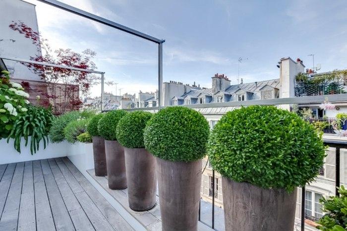 Balcon proteccion para hacerlos funcionales e ntimos for Terrassen deko modern