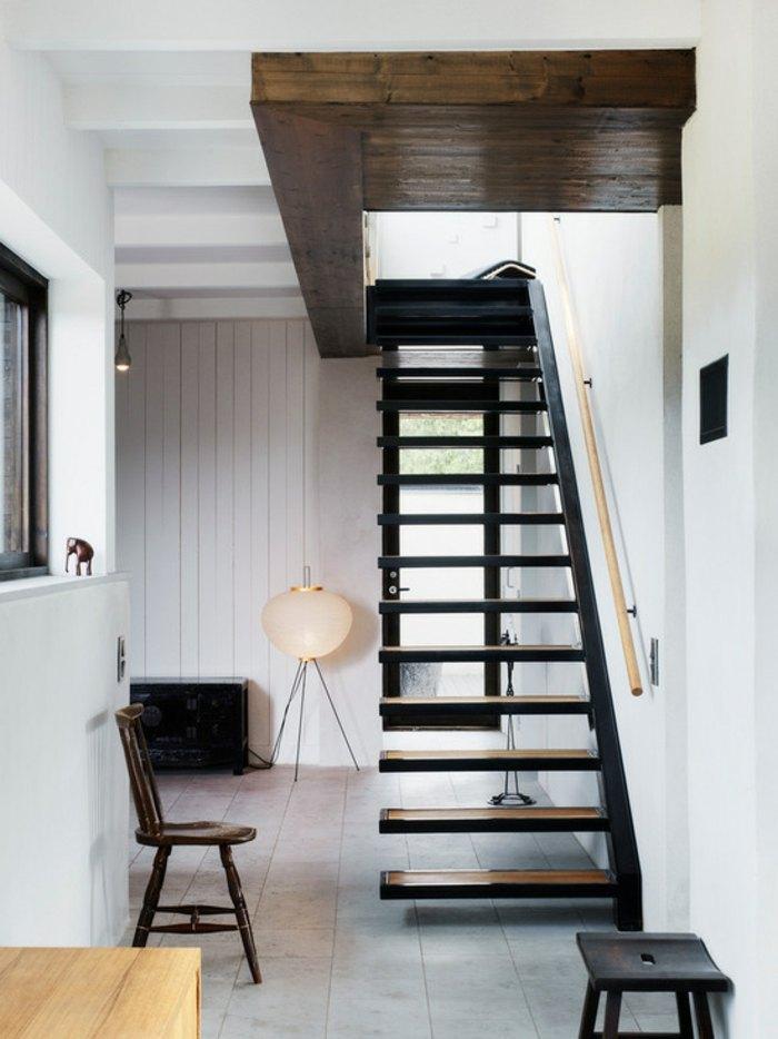 Divina cocina con acceso al exterior villa m por m arkitektur for Soluciones para escaleras