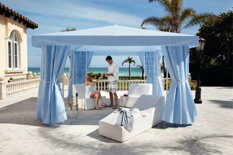 Sombra para espacios exteriores con art culos imprescindibles - Cortinas para el sol ...