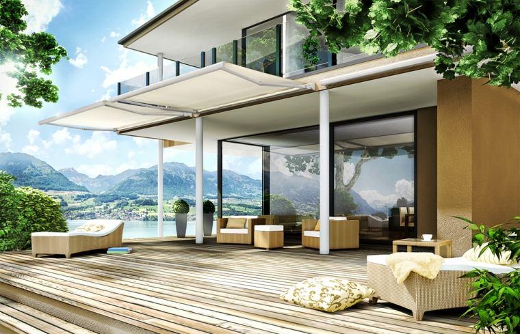 sombra para terraza toldo con estructura retrctil