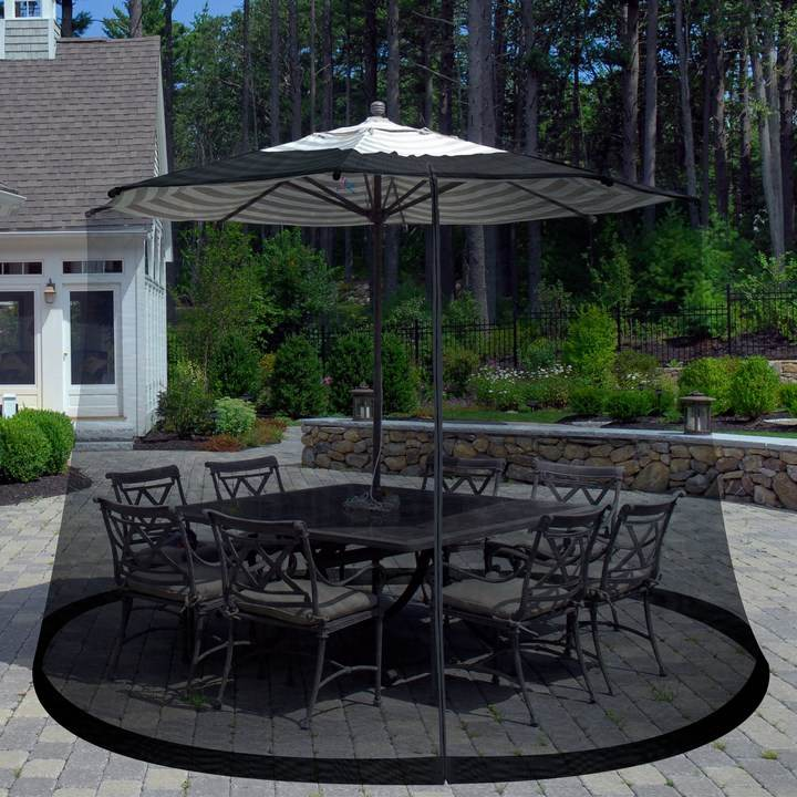 sombrilla sol aire libre protege mosquitos ideas