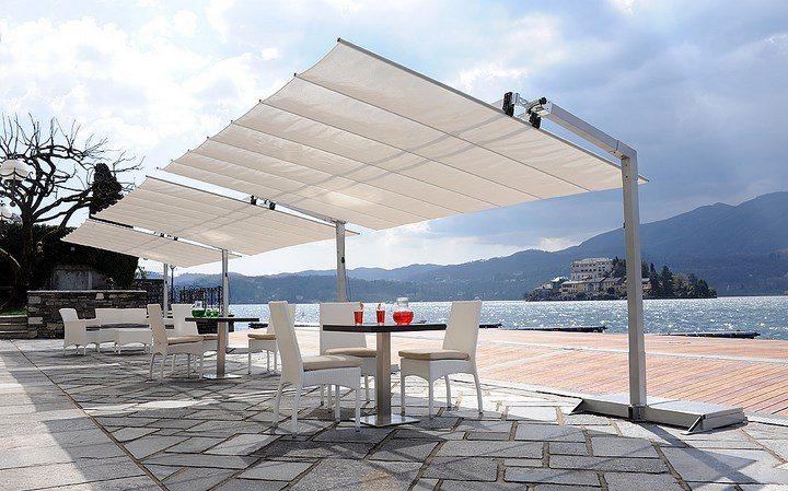 sombrillas sol aire libre espectacular rectangular ideas