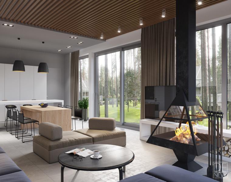 Casas De Lujo Tres Diseños De Interiores Impresionantes