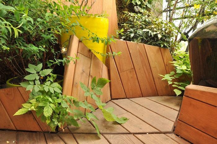 suelo radiante listones madera funcional cuadros