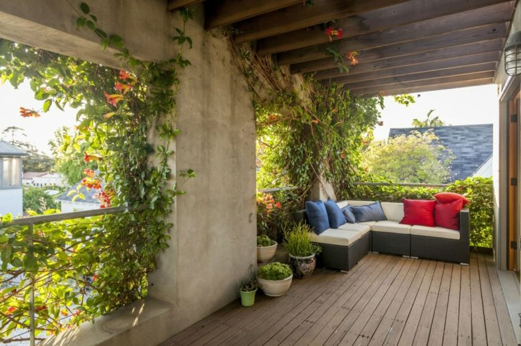 terraza disenada Ruben Ojeda Architects & Koning Eizenberg Architecture ideas
