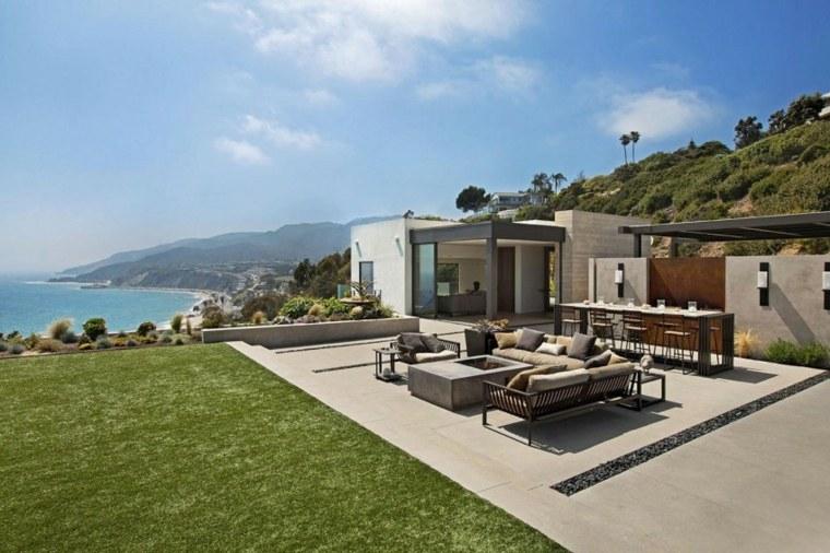 terrazas exteriores modernas Shubin + Donaldson Architects ideas