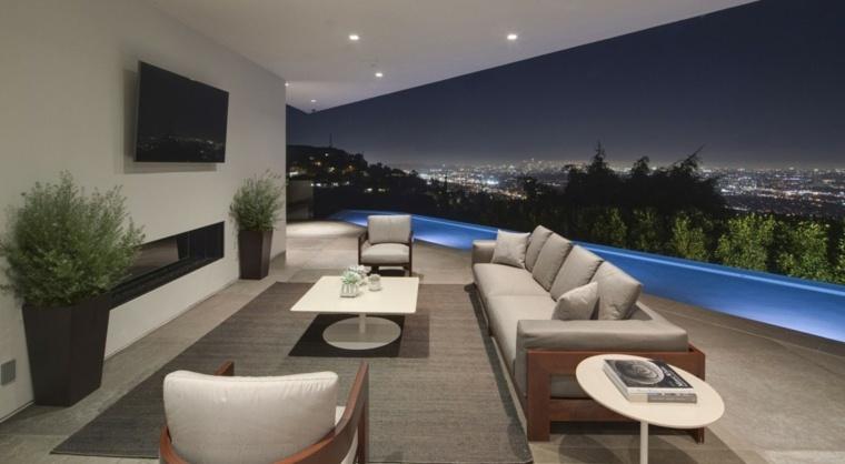 terrazas exteriores modernas residencias McClean Design ideas