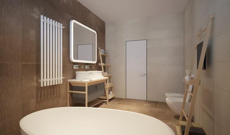 texturas baño calido acogedor natural bañera en blanco