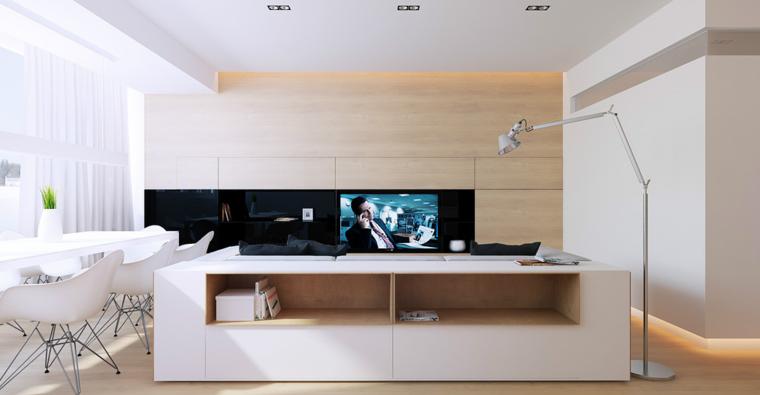Ultimas tendencias para la decoraci n de salas de estar for Sala de estar de madera