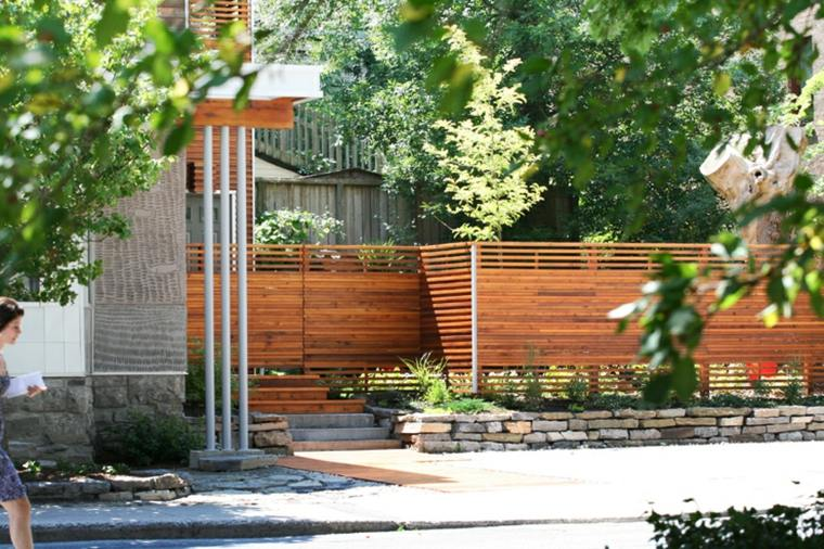 vallas madera diseno moderno deco