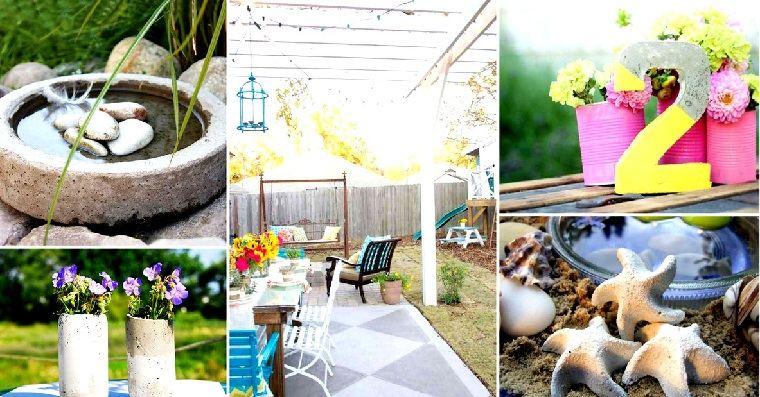 varios proyectos decorar jardin bricolaje ideas