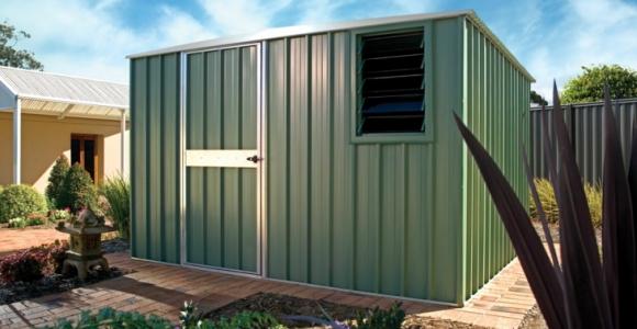 Jardines almacenamiento funcional en cobertizos prácticos