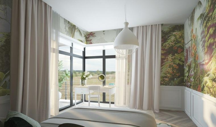 bonito diseño de dormitorio
