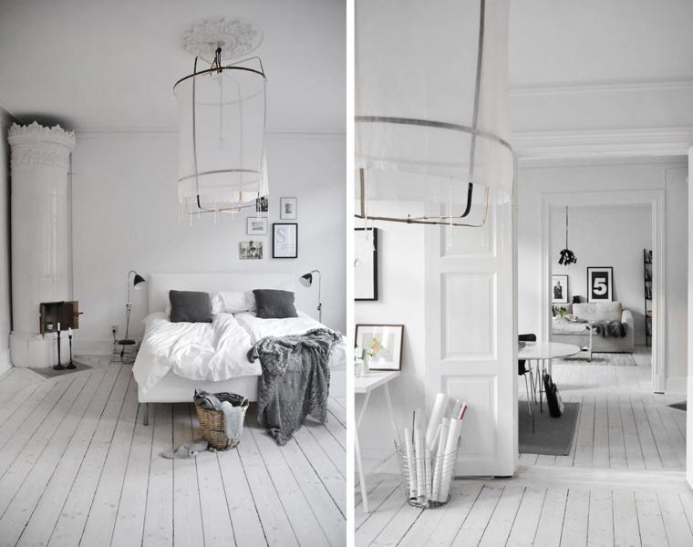 habitacion estilo escandinavo