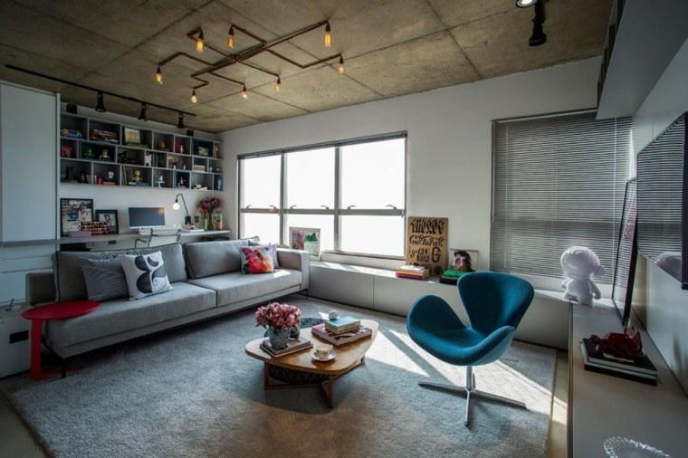 Casa 2 Arquitetos diseno salon colorido Brazil ideas