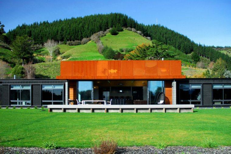 Radman Brown House diseño Guy Herschell Architects
