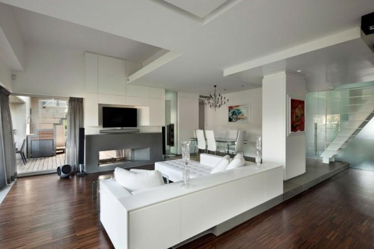 Ideas decoraci n sal n 24 dise os modernos - Diseno salon moderno ...