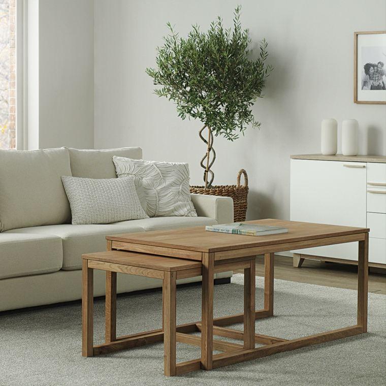 aparador salones fuentes sillones mesas madera