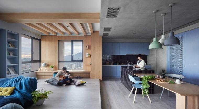 apartamento diseno modenro lujo