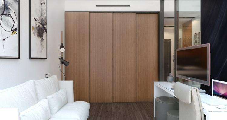 apartamentos espacio cerraderas conceptos cuadros