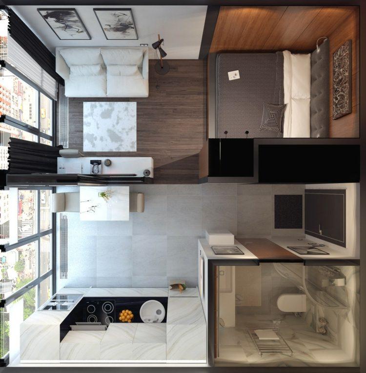 apartamentos espacio distribucion casas cuadros