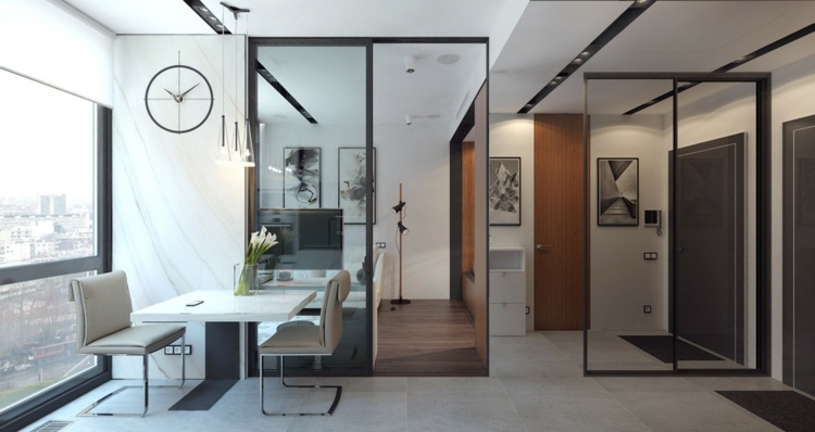 apartamentos espacio salones estilos muebles sillones