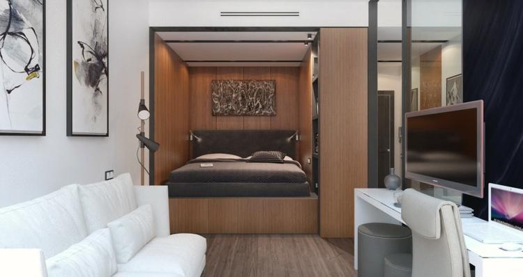 apartamentos espacio television salones sillas