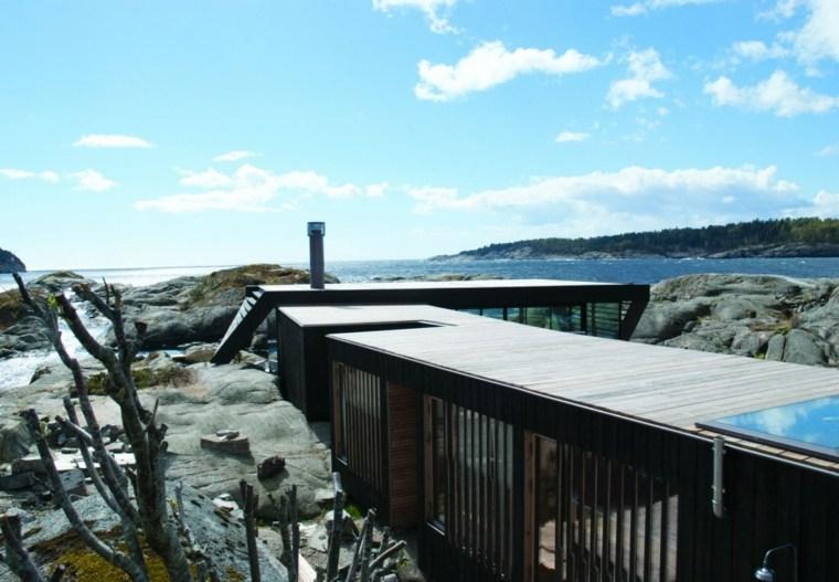 arquitectura moderna casa lujosa