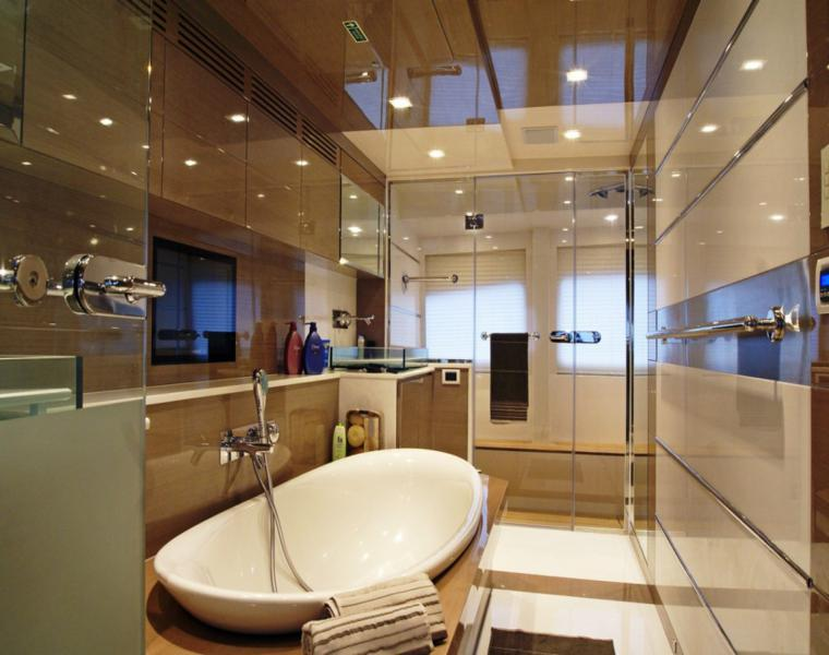 Diseno Baño Sencillo:Fotos de baños – cuarenta ideas inspiradoras para interiores -