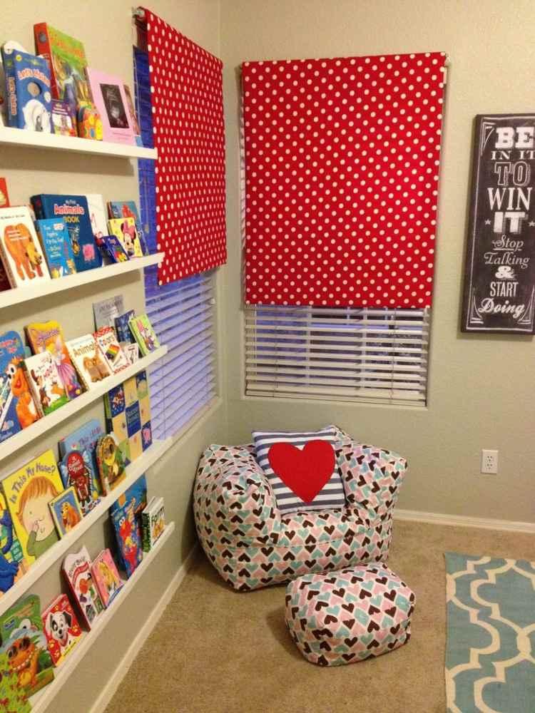 bolas rojos espacio juego alfombras cojines