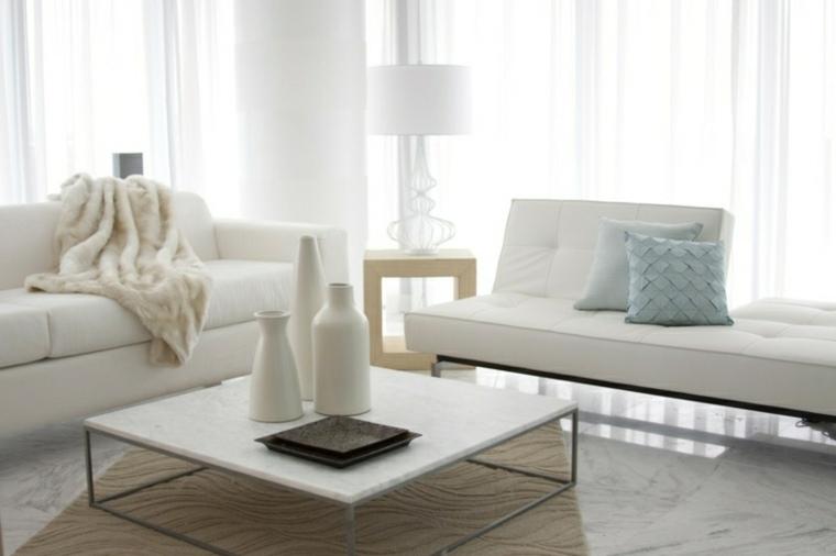 Salones en blanco descubra los 100 interiores m s modernos for Muebles modernos en miami florida
