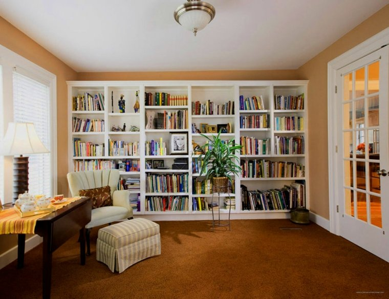 bonita sala lecturas sillon